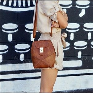 Pink Haley Frida Crossbody Bag